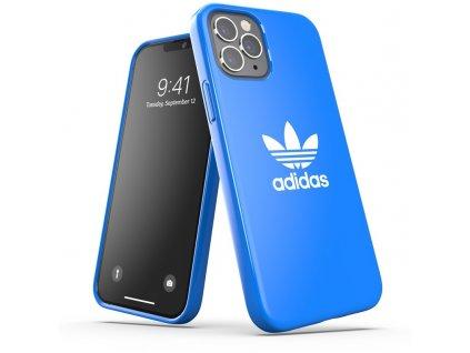 Ochranný kryt pro iPhone 12 / 12 Pro - Adidas, Snap Case Trefoil Blue