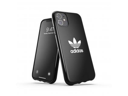 Ochranný kryt na iPhone 11 - Adidas, Snap Case Trefoil Black