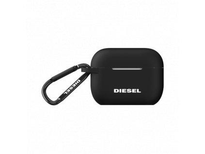 Pouzdro na sluchátka AirPods Pro - Diesel, Silicone Cover Black