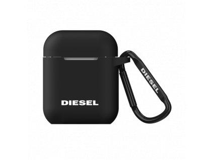 Pouzdro pro sluchátka AirPods - Diesel, Silicone Cover Black