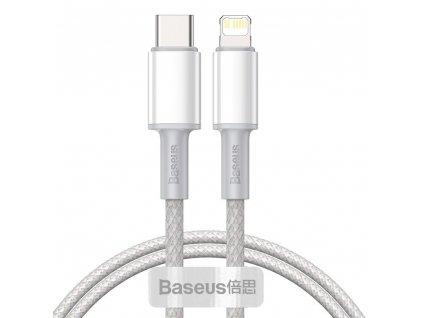 Rychlý datový kabel USB-C/Lightning - Baseus, PD20W 150cm White