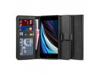 Pouzdro pro iPhone 7 / 8 / SE (2020) - Tech-Protect, Wallet 2 Black