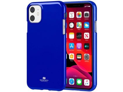 Ochranný kryt pro iPhone 11 - Mercury, Jelly Blue