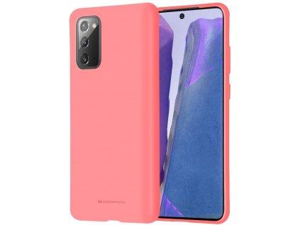 Ochranný kryt pro Samsung GALAXY NOTE 20 - Mercury, Soft Feeling Pink