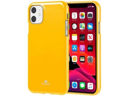 Ochranný kryt pro iPhone 11 - Mercury, Jelly Yellow