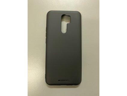 Ochranný kryt na Xiaomi Redmi 9 - Mercury, Soft Feeling Black