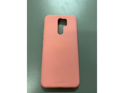 Ochranný kryt na Xiaomi Redmi 9 - Mercury, Soft Feeling Pink