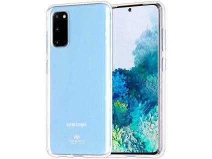 Ochranný kryt pro Samsung GALAXY S20 - Mercury, Jelly Transparent