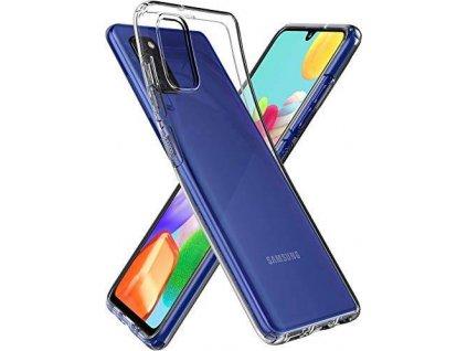 Ochranný kryt pro Samsung Galaxy A41 - Mercury, Jelly Transparent