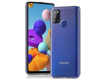 Ochranný kryt pro Samsung Galaxy A21S - Mercury, Jelly Transparent