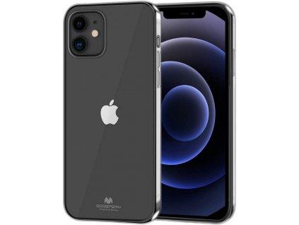 Ochranný kryt pro iPhone 12 / 12 Pro - Mercury, Jelly Transparent