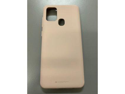 Ochranný kryt pro Samsung Galaxy A21S - Mercury, Soft Feeling Pink Sand