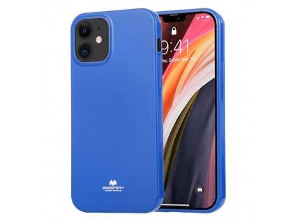 Ochranný kryt pro iPhone 12 mini - Mercury, Jelly Blue