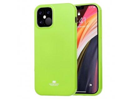 Ochranný kryt pro iPhone 12 / 12 Pro - Mercury, Jelly Lime