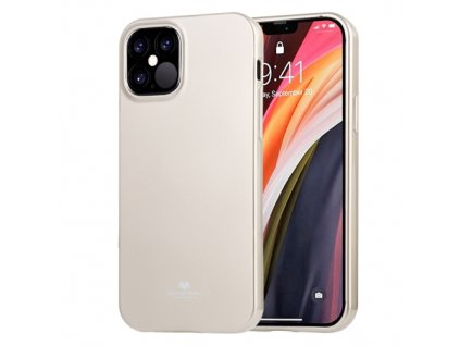 Ochranný kryt pro iPhone 12 Pro MAX - Mercury, Jelly Gold