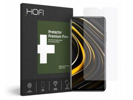 Hybridní ochranné sklo na Xiaomi Poco M3 - Hofi, Glass Pro+