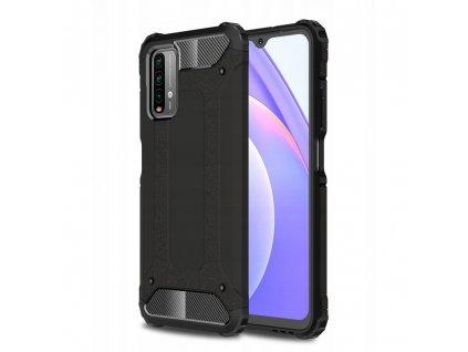 Ochranný kryt pro Xiaomi Poco M3 - Tech-Protect, Tpucarbon Black