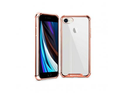 Ochranný kryt pro iPhone 7 PLUS / 8 PLUS - Mercury, WonderProtect Rose