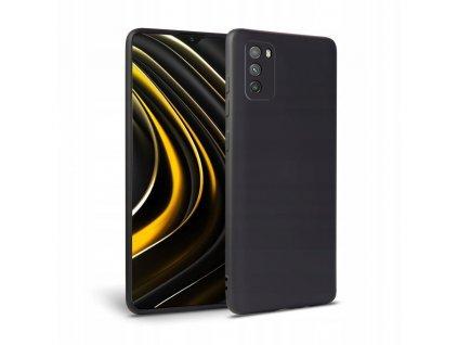 Ochranný kryt pro Xiaomi Poco M3 - Tech-Protect, Icon Black