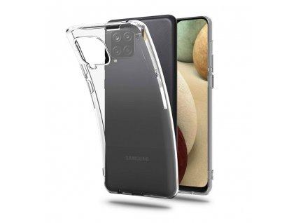 Ochranný kryt pro Samsung Galaxy A12 - Tech-Protect, Flexair Crystal