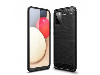 Ochranný kryt pro Samsung Galaxy A02S - Tech-Protect, Tpucarbon Black