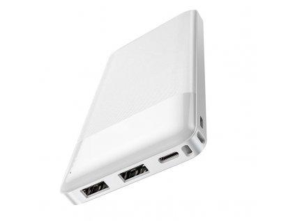 Externí baterie / powerbanka - HOCO, J72 EasyTravel 10000mAh White