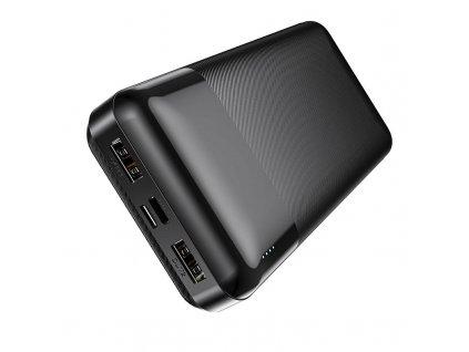 Externí baterie / powerbanka - HOCO, J72A EasyTravel 20000mAh Black