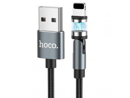 Magnetický kabel USB-A/Lightning pro iPhone a iPad - Hoco, U94 Universal