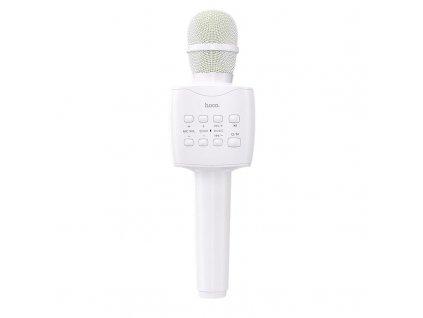 Bezdrátový karaoke mikrofon - Hoco, BK5 Cantando White
