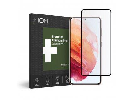 Hybridní ochranné sklo na Samsung Galaxy S21 - Hofi, Glass Pro+
