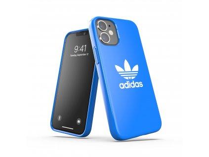 Ochranný kryt na iPhone 12 mini - Adidas, Snap Case Trefoil Blue