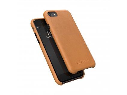 Kožený kryt na iPhone 7 / 8 / SE (2020) - Bugattti, Porto Brown
