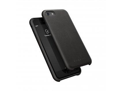 Kožený kryt na iPhone 7 / 8 / SE (2020) - Bugattti, Porto Black