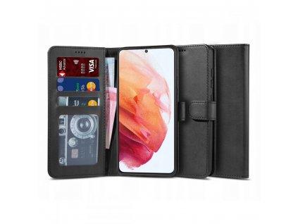 Ochranné pouzdro pro Samsung GALAXY S21 - Tech-Protect, Wallet 2 Black