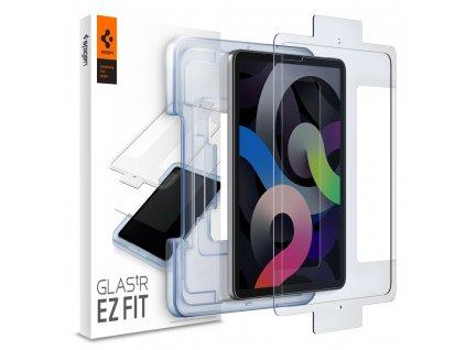 Hybridní ochranné sklo na iPad Air 4 (2020) - Spigen, Glas.tR EZ Fit (s aplikátorem)