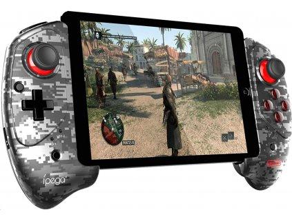 Herní ovladač pro mobil / tablet - iPega, 9083A Gray Camo