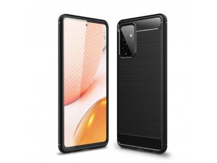 Ochranný kryt pro Samsung Galaxy A72 5G - Tech-Protect, Tpucarbon Black