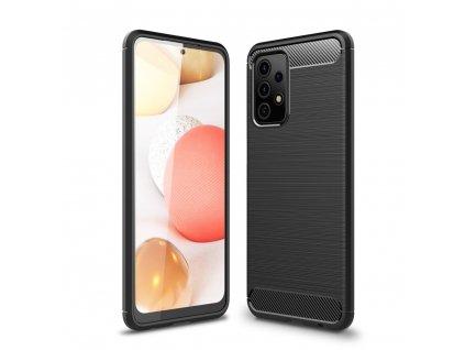 Ochranný kryt pro Samsung Galaxy A52 5G/LTE - Tech-Protect, Tpucarbon Black