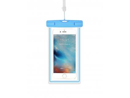 Plážové voděodolné pouzdro na mobil - Devia, Waterproof Bag Blue