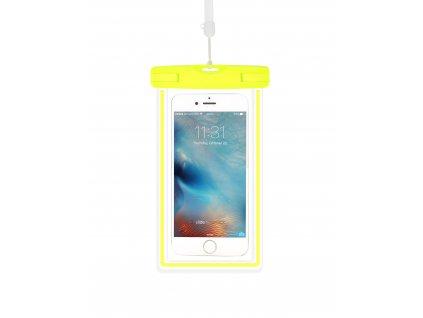 Plážové voděodolné pouzdro na mobil - Devia, Waterproof Bag Green