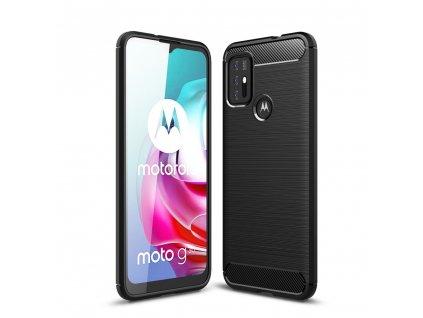 Ochranný kryt na Motorola Moto G10 / G30 - Tech-Protect, Tpucarbon Black