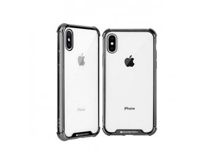 Ochranný kryt pro iPhone XS / X - Mercury, WonderProtect Black
