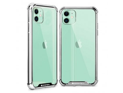 Ochranný kryt pro iPhone XR - Mercury, WonderProtect Silver