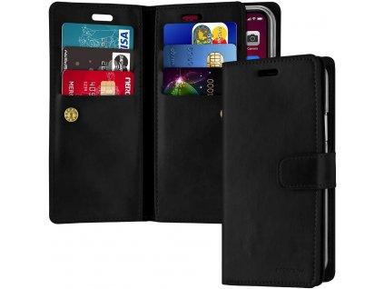 Knížkové pouzdro na iPhone 11 - Mercury, Mansoor Diary Black