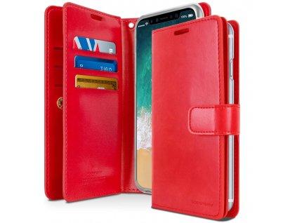 Knížkové pouzdro na iPhone 11 - Mercury, Mansoor Diary Red