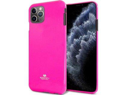 Ochranný kryt pro iPhone XS / X - Mercury, Fluorscence Jelly HotPink