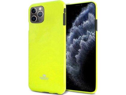 Ochranný kryt pro iPhone XS / X - Mercury, Fluorscence Jelly Lime