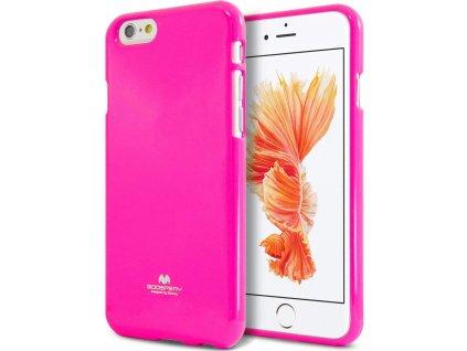 Ochranný kryt pro iPhone 6 PLUS / 6S PLUS - Mercury, Fluorscence Jelly HotPink