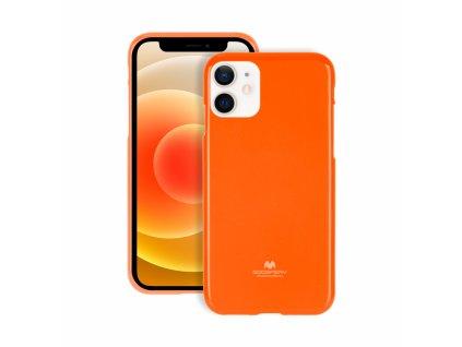 Ochranný kryt pro iPhone 12 mini - Mercury, Fluorscence Jelly Orange