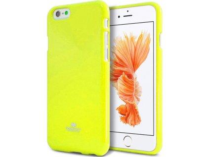 Ochranný kryt pro iPhone 6 / 6S - Mercury, Fluorscence Jelly Lime